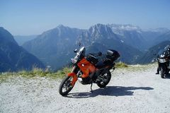 Motorcycle Tour: Slovenia: Friuli - The Julian Alps