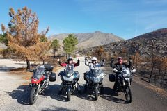 Motorcycle Tour: 8 days winter escape Portugal/ round trip from Malaga