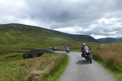 Motorcycle Tour: Scotland - visiting the Highlanders
