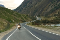 Motorcycle Tour: Stalingrad and the highest mountain in Europe