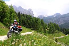Trip/Tour: Individual tour through Italian passes