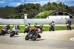 Motorcycle Training Course : One-day Cornering and Leaning Training in Baden Airpark