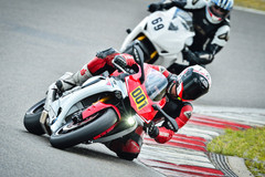 Motorcycle Training Course : Race training at the Hockenheim ring