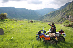 Motorcycle Tour: 7 days North Armenia