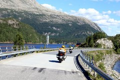 Motorcycle Tour: 17 days Fjordland and Lofoten