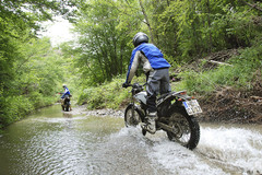 Motorcycle Tour and Training: Trial hiking Tuscany incl. training course