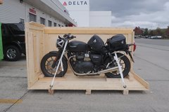 Motorbike shipping: Motorcycle shipping Chile, air freight