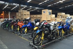 Motorbike shipping: Motorcycle shipping: Middle East