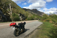 Trip/Tour: Scotland: Through the Highlands on a motorcycle
