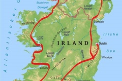 Motorcycle Tour: Around the Irish Island without guide