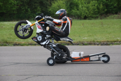 Motorcycle Training Course :  Wheelie - Intensive Training, Hildesheim (Germany)
