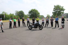 Motorcycle Training Course :  Leaning training for women only, Hildesheim