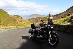 Motorcycle Tour: Around the Irish Island