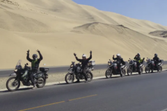 Motorcycle Tour: 14+1-Day South American Express
