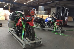 Motorbike shipping: Motorcycle transport Canada sea freight