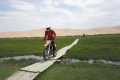 Trip/Tour: Gobi Desert Motorcycle Trail in Mongolia