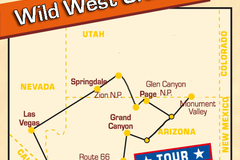 Reise/Tour: Wild West Cruiser