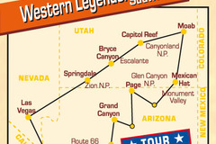 Reise/Tour: Western Legends