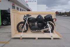 Motorbike shipping: Motorcycle shipping Chile, sea freight